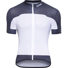 POC Raceday Climber Jersey Heren, wit/blauw